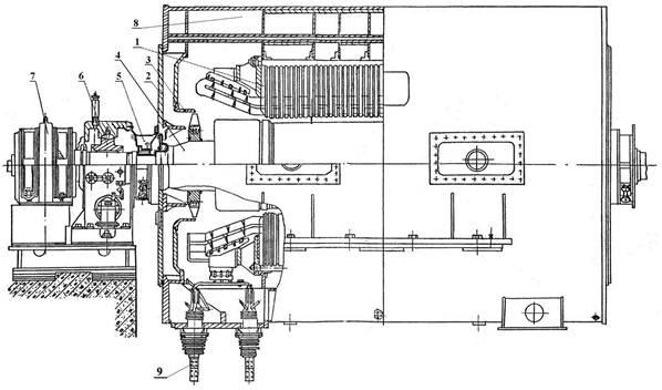 населения: масляные уплотнения генераторов с водородным ткань