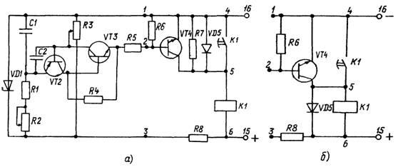 Аналог однопереходного транзистора схема фото 335